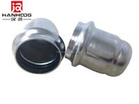 Inox press fittings pipe end screw cap