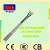 Tinned Wire Braid Shield Flexible PVC Control Cable Flex Cable