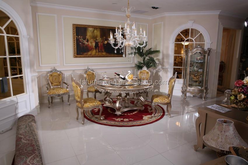 französisch neue design neo-klassische intarsien esszimmer möbel, Esstisch ideennn