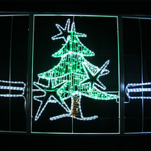 Rope lights made high quality event decoration lighted star hot high quality rope snowman motif