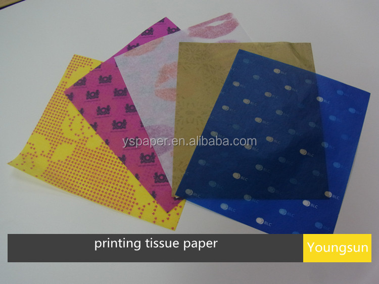 printing on tissue paper Printed tissue paper to order printed packaging, call us at 1-800-547-9727 or email us create an impression with your own custom tissue paper available in white.