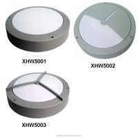IP65 die casting aluminium body pc cover round bulkhead light