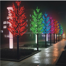 H 2..8m Dia 1.3m 100V-240V lighted green maple tree christmas led decorations