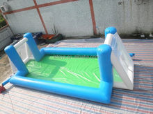 water inflatable football court , LZ-257 inflatable football pitch for sports competition