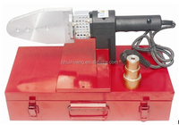 a full set of device and with high quality sockets and most popular plastic ppr pipe welding machine of CF 63-4
