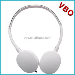 Lightweight stereo headphone without mic