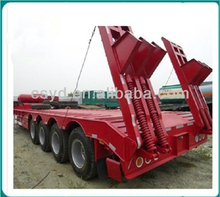 4 Axle Low Bed Semi Trailer for sale