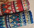 Tejido de algodón y lino para ropa de cama con estampados de estilo étnico y bohemio