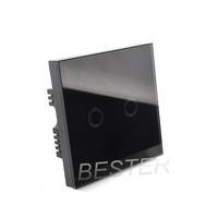 110v-240v UK standard wall touch switch for home appliance