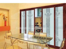 Aluminum fixed sliding door for house, kitchen
