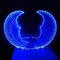 Colorful LED Wings / LED Light dance wings for DJ club stage performance