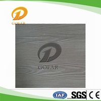 Fireproof partition wood like cement smart side panel