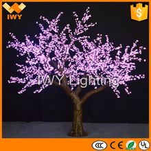 H300cm Beautiful 7 Color Changing Large Artificial Tree