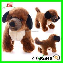 E396 Light Brown Collection Stuffed Animal Dolls Plush Toy Dog