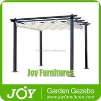 Hot Sale Classical Wrought Iron Aluminum Gazebo Pergola