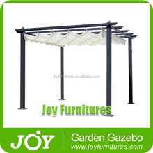 Hot Sale Classical Wrought Iron Aluminum Gazebo Pergola