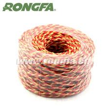 various colorful packaging paper rope