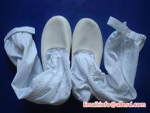 Pu Sole salle blanche antistatique de sécurité bottes / chaussures Made in China