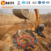 2015 BEIYI hydraulic pile cutter, pile cutting machine,pile cropper