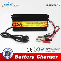 12v 15a Manual Battery Charger Automatic Solar Battery Charger for sale