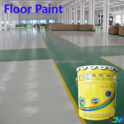 Garage stain and oil resistance epoxy polymer floor coating