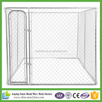 made in china cheap galvanized iron fence steel dog kennels