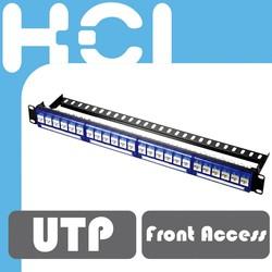 RCA, F, BNC, Optical Fiber Connector Multiple A/V Inserts Patch Panels