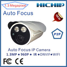 1.3MP High resolution cheap cmos sensor digital camera ip camera p2p outdoor wireless ip camera