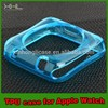 clear soft tpu case for apple watch accessory for 38mm