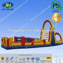 Popular vertical rush obstacle course for sale