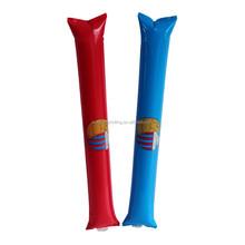 inflatable balloon stick , world cup balloon stick , inflatable plastic balloon stick