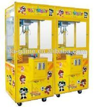 funciona con monedas de regalo premio simulador arcade juego de la grúa de la máquina