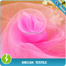Wedding decoration organza fabric
