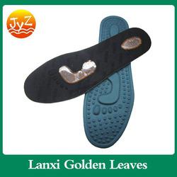 Foot massaging cushion memory foam orthotic insole fit rain boot