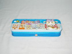 Metal pencil box holder