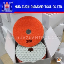 New Arrival Hexagon Shape Surface Dry Polishing Pad Stone Polishing Pads