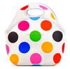 Fitness Cooler Lunch Bag White Base Fabric color Printed