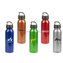 Promotional Unique Popular Novelty Drink Bottle with Crest Lid