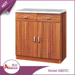China foshan cheap small kitchen cabinet short mdf wood cupboard design for kitchen room