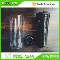 350ml DIY starbuck shape coffee travel mug tumblers with paper insert advertising mug RH136-12