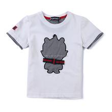 promotional gift t shirt customization o- neck 100% cotton quality t shirt, class uniform, sleeve & collar same color t shirt.
