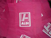 ALDI grocery shopping bag