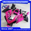 FFKKA004 China Fairings Motorcycle For Ninja ZX 6R ZX6R 2003 2004 Pink Black Monster