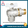 oil brass ball valve angle valve gas control valve polishing full port PPR and DN40 PN16 with forged female thraeded