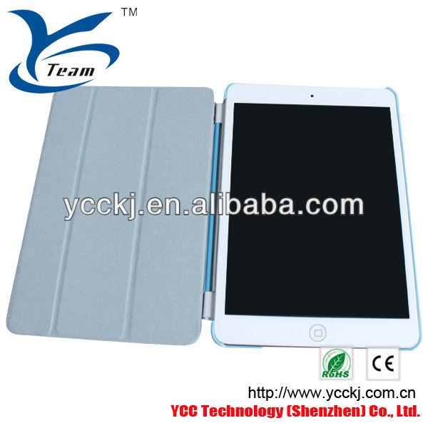 ミニ用のi padケース、i pad用保護ケースpu、i pad用ミニのレザーケース