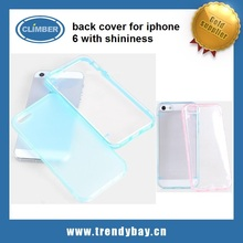 shiny back cover case pc case for iphone 6 5 5s