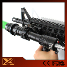 Police all weather laser flashlight torch focusable