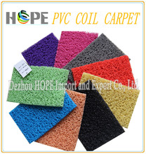 Most Popular !!! pvc coil door mat vinyl loop mat carpet game carpet