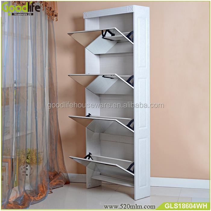 GLS18604mirror shoe cabinet-7