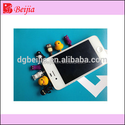 Custom eco-friendly soft silicone phone dust plug anti dust plug plug stopper earphone anti dust wholesale